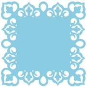 "Martha Stewart Crafts® Around The Page Large Combo Punch, Arabesque Scrolls, 1.9"" x 1.18"""