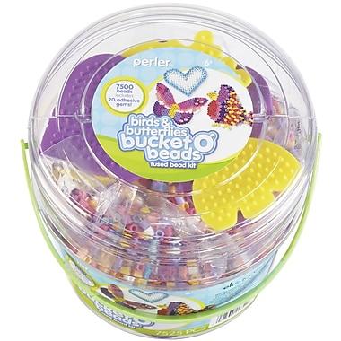 Perler® Birds and Butterflies Fun Fusion Fuse Bead Activity Bucket Kit
