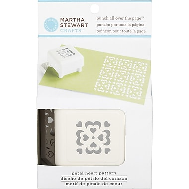 Martha Stewart Crafts® All Over the Page Punch, Petal Heart, 1 1/2