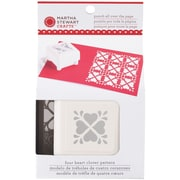 "Martha Stewart Crafts®  4 1/2"" All Over the Page Punch, Four Heart Clover, 1 1/2"" x 1 1/2"""