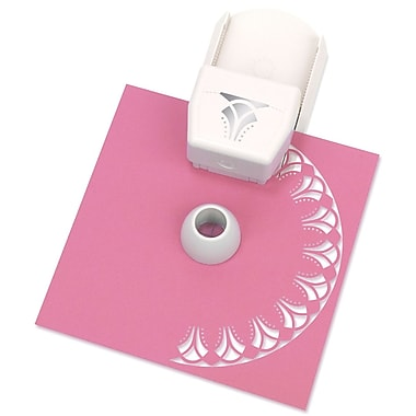 Martha Stewart Circle Border Punch Cartridge, Flower Arches, 3 1/2