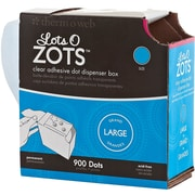 Thermoweb 1/2 Lots O Zots Clear Adhesive Dots, Large