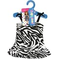 Fibre Craft® Springfield Collection® Zebra Dress For 18in. Dolls, Black/White