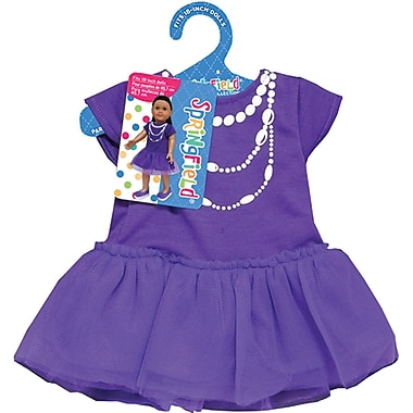 Fibre Craft® Springfield Collection® Casual Dress For 18in. Dolls, Purple