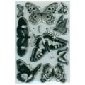 Stampendous® 4in. x 6in. Perfectly Clear Stamp, Butterflies