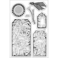 Stampendous® 4in. x 6in. Perfectly Clear Stamp, Timeless Tags