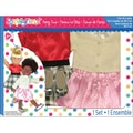 Fibre Craft® Springfield Collection® Polka Dot Party Time Gift Set For 18in. Dolls