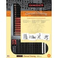 General Pencil 57RETRO Drawing Pencil Set, Charcoal
