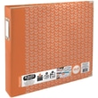 We R Memory Keepers 3-Ring Album, 12in. x 12in., Tangerine