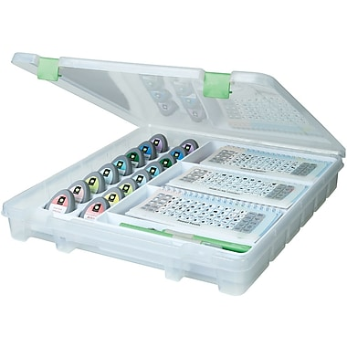 ArtBin® Super Satchel™ Cartridge and Tool Storage Case, Clear