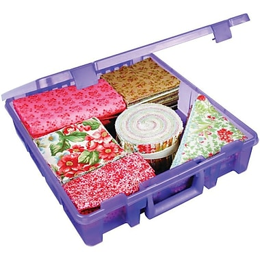 ArtBin® Super Satchel™ 1 Compartment Box, Translucent Purple