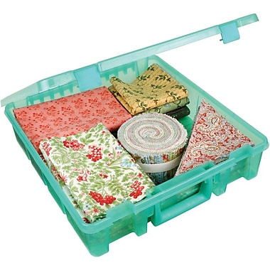 ArtBin® Super Satchel™ 1 Compartment Box, Translucent Teal