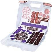 ArtBin® Spellbinder Magnetic Die Case W/3 Sheets, Translucent