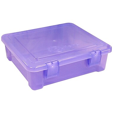 Creative Options® Album and Craft Tub, Purple