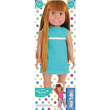 Fibre Craft® Springfield Collection® Olivia Pre-Stuffed Doll For 18in. Dolls, Aqua