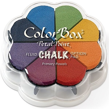 Clearsnap® 4 3/4in. x 4 3/4in. Fluid Chalk Petal Point Inkpad, Primary Pastel