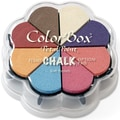 Clearsnap® 4 3/4in. x 4 3/4in. Fluid Chalk Petal Point Inkpad, Soft Pastels