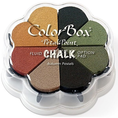 Clearsnap® 4 3/4in. x 4 3/4in. Fluid Chalk Petal Point Inkpad, Autumn Pastel
