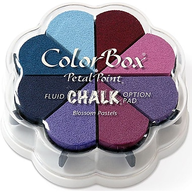 Clearsnap® 4 3/4in. x 4 3/4in. Fluid Chalk Petal Point Inkpad, Blossom Pastel