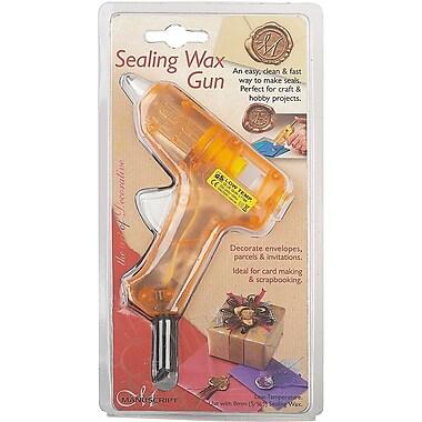 Manuscript Pen Sealing Wax Gun, Orange