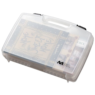ArtBin® Quick View™ 17in. Carrying Case, Translucent