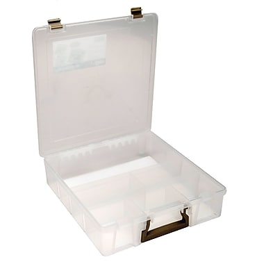 ArtBin® Super Satchel™ 6 Compartment Box, Translucent