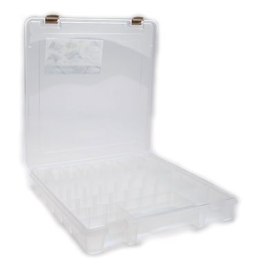 ArtBin® Super Satchel™ Slim 8 Compartment Box, Translucent