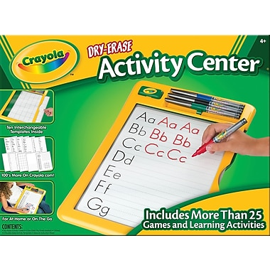 Crayola® Dry Erase Activity Center