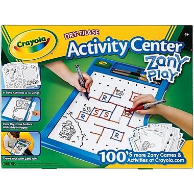 Crayola® Zany Play Dry Erase Activity Center