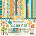 Echo Park Paper All About A Boy Collection Kit, 12in. x 12in., 12/Pack