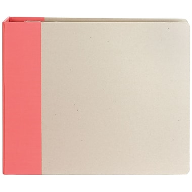 American Crafts™ Modern D-Ring Album, 12in. x 12in., Raspberry