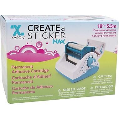 Xyron Create-A-Sticker Max Permanent Refill Cartridge