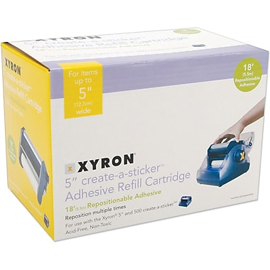 Xyron Create-A-Sticker Max Repositionable Refill