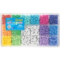 Beadery Giant Extravaganza Bead Box Kit, Alphabet, 2000 Beads/Pack