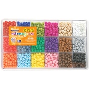 Beadery Giant Extravaganza Bead Box Kit, Crayon, 2300 Beads/Pack