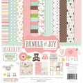Echo Park Paper Bundle Of Joy Girl Collection Kit, 12in. x 12in.