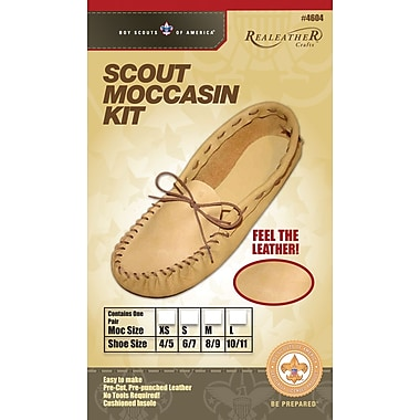 Silver Creek 8/9 Size Leather Scout Moccasin Kit