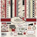 Echo Park Paper Well Traveled Collection Kit, 12in. x 12in.