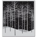 Hero Arts® 4 3/4in. x 3 1/2in. Cling Stamp, Winter Trees