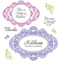 Justrite® Stampers 8 1/2in. x 5 1/2in. Cling Stamp Set, Kindness