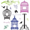 Justrite® Stampers 8 1/2in. x 5 1/2in. Cling Stamp Set, Spread Your Wings