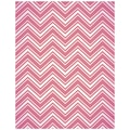 Justrite® Stampers 4 1/2in. x 5 3/4in. Cling Background Stamp, Chevron Stripe