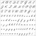 Fiskars® 8in. x 8in. Clear Stamp, Alphabet Script