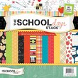 Diecuts With A View® School Days Paper Stack, 12in. x 12in., 180/Pack