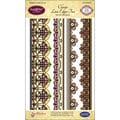 Justrite® Stampers 5 1/2in. Clear Stamp Set, Classic Lace Edges Two
