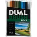 Tombow® 10 Piece Landscape Dual Brush Marker
