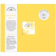 "Doodlebug Storybook Album With Window, 12"" x 12"", Bumblebee"
