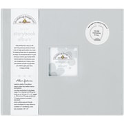 Doodlebug Storybook Album With Window, 12 x 12, Gray