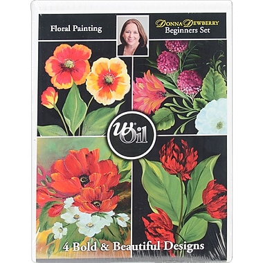 Martin/ F. Weber® Donna Dewberry Beginner Floral Oil Paint Set