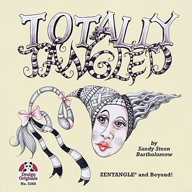 Design Originals Zentangle and Beyond Totally Tangled Book